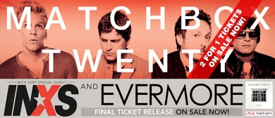 Livenation Presents: Matchbox Twenty Australian Tour