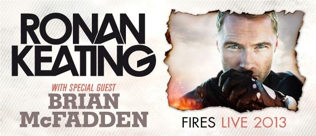 Ronan Keating 'Fires' Australian Tour