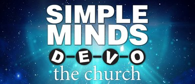 Simple Minds, Devo & the church Australian Tour