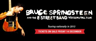 Bruce Springsteen and the E Street Band Australian Tour