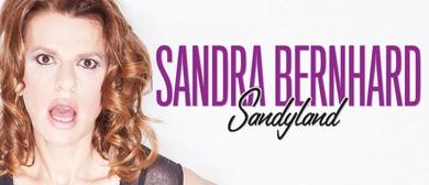 Sandra Bernhard - Sandyland Australian Tour 2015