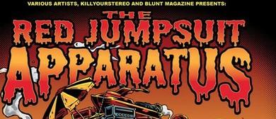 The Red Jumpsuit Apparatus - Australian Tour