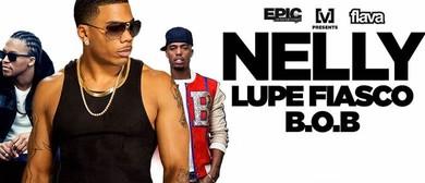 Nelly, Lupe Fiasco and B.o.B Australian Tour 2015