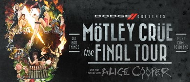 Mötley Crüe - Final Tour with Alice Cooper