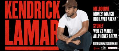 Kendrick Lamar Australian Tour