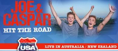 Joe and Caspar Hit The Road USA - Live In Australia