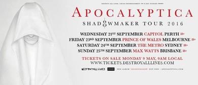 Apocalyptica - Shadowmaker Tour 2016