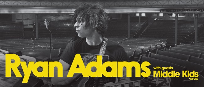 Ryan Adams Australian Headline Shows