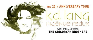 k.d. lang – Ingénue Redux 25th Anniversary Tour