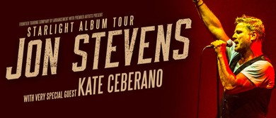 Jon Stevens – Starlight Album Tour