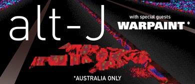 alt-J Australian Tour