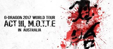 G-Dragon – Act III, M.O.T.T.E. World Tour
