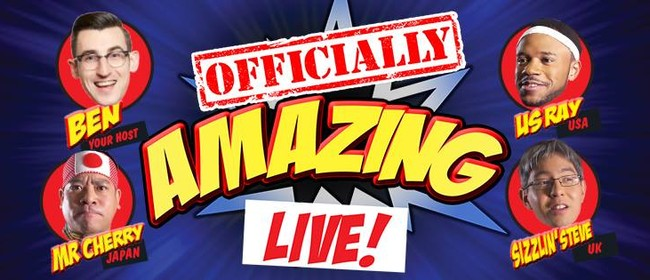 Officially Amazing Live!
