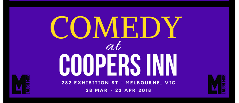 Laugh Mob Presents: Comedy at Coopers Inn