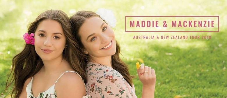 Maddie and Mackenzie Australian Tour 2018