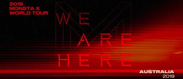 Monsta X – We Are Here World Tour