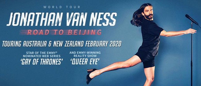 Jonathan Van Ness – Road To Beijing World Tour
