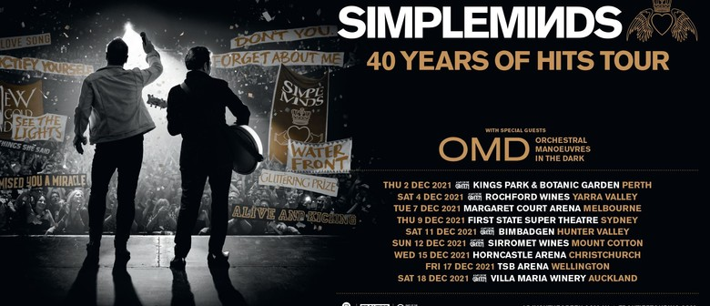 Simple Minds – 40 Years of Hits Tour 2021