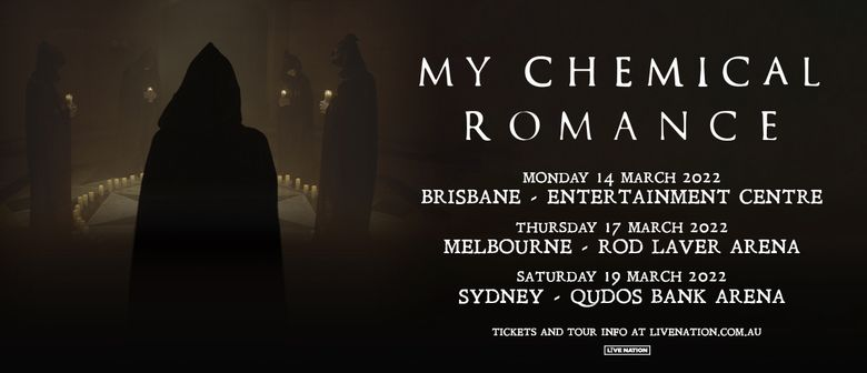 My Chemical Romance Australian Arena Tour 2022