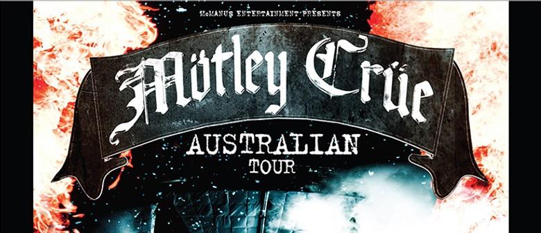 Motley Crue Australia Tour