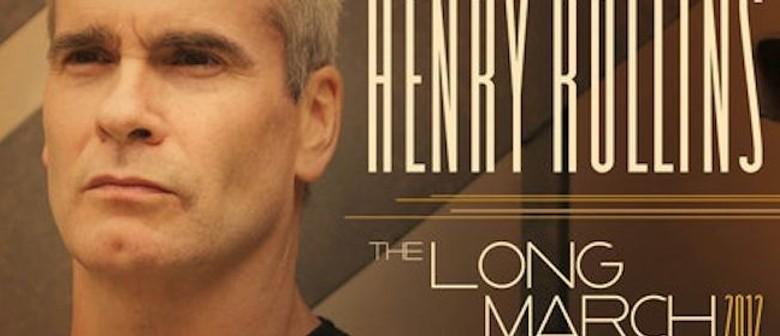 Henry Rollins Australian Tour