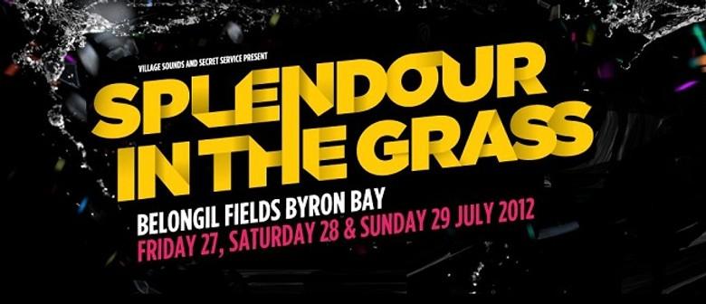 Splendour In The Grass 2012 Lineup Announcement