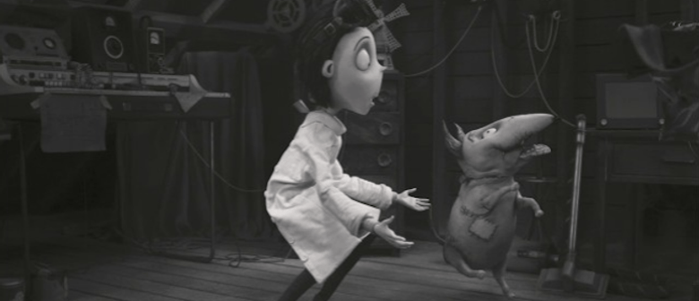 Winona, Robert Smith, Karen O, Kimbra for Frankenweenie soundtrack