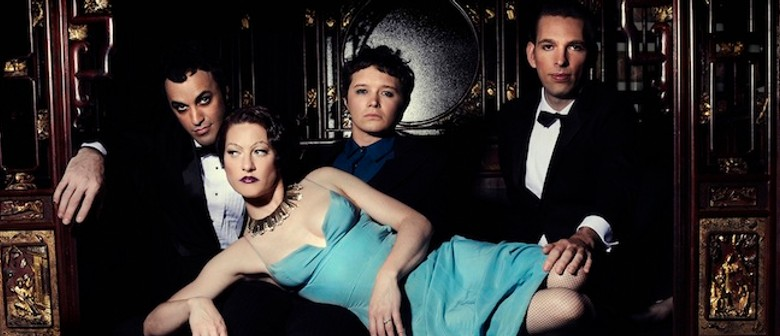 Amanda Palmer and The Grand Theft Orchestra performing across Australia