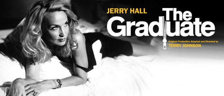 jerry hall to play mrs robinson in melbourne season of the