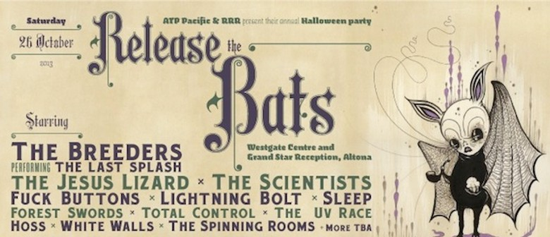 The Breeders to headline ATP's Release The Bats festival in Melbourne
