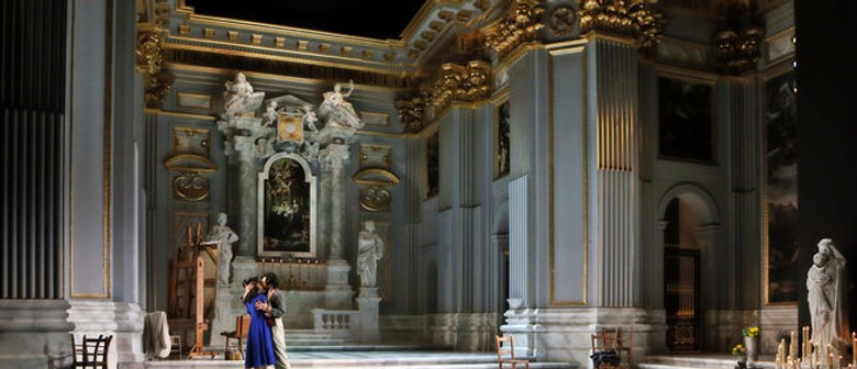Tosca underway at Sydey Opera House