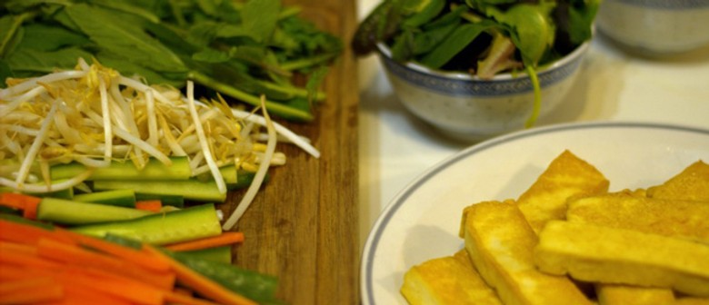 Bite-Sized Recipe: Tofu Rice Paper Rolls with Nuoc Cham Dipping Sauce