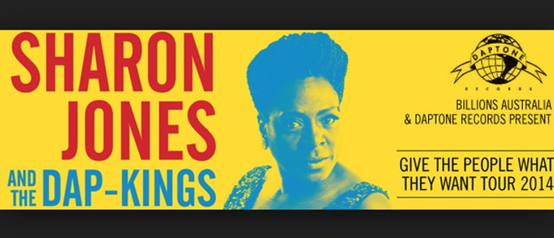 Sharon Jones and the Dap-Kings Australian Tour