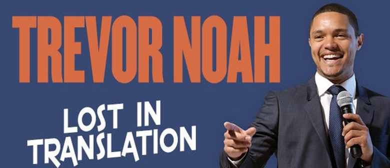 Trevor Noah Australian Tour