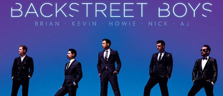 Backstreet Boys - In A World Like This Tour