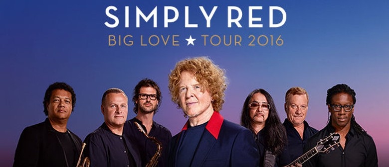 Simply Red - Big Love Tour 2016
