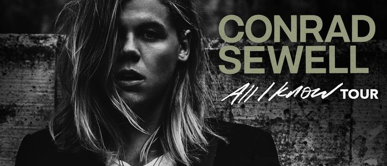 Conrad Sewell - All I Know Tour