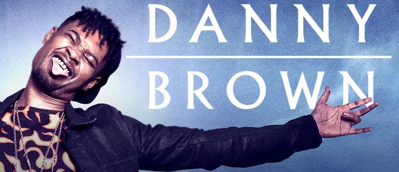 Danny Brown Australian Tour