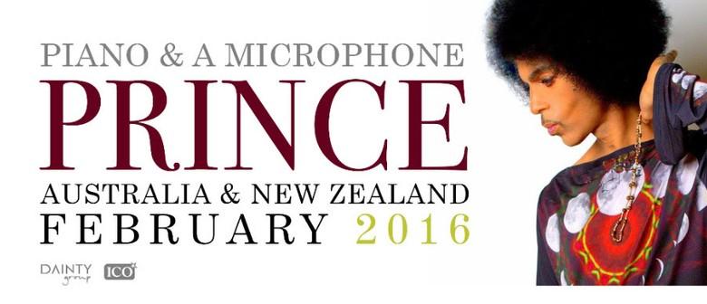 Prince - Piano & A Microphone Tour 2016