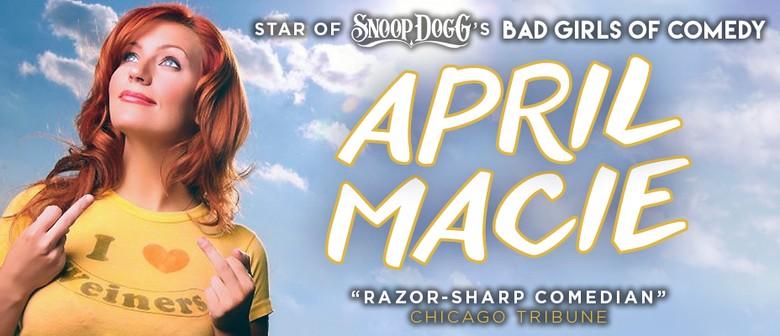 April Macie Makes Her Australian Debut This September