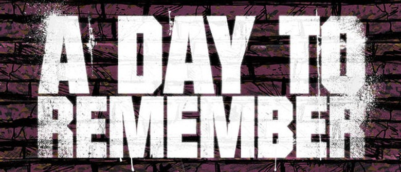 A Day To Remember Return To Australia With Bad Vibes Tour