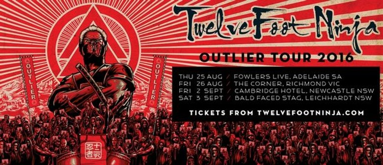 Twelve Foot Ninja Hit the Road This August In Support of New Album