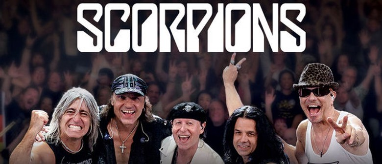 Heavy Rock Legends Scorpions Play Their First Ever Australian Show This October