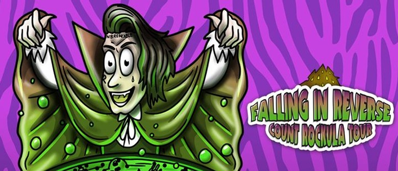 Falling In Reverse Bring Count Rockula Tour Down Under This October