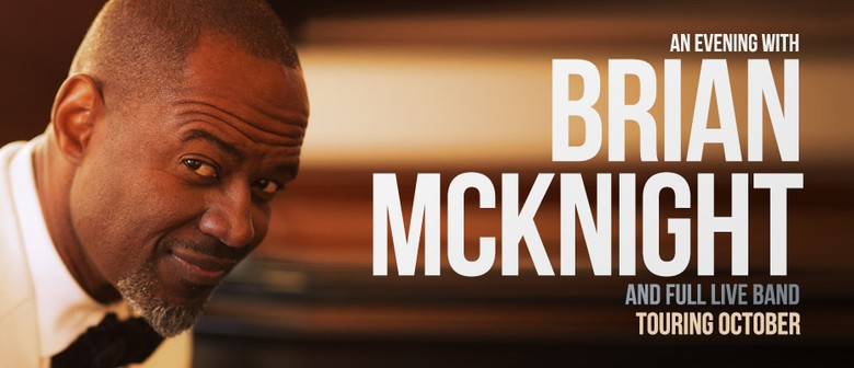 Brian McKnight And His Band Return To Australia This October