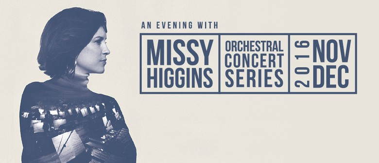 Missy Higgins Plays Series Of Orchestral Shows This November Through December
