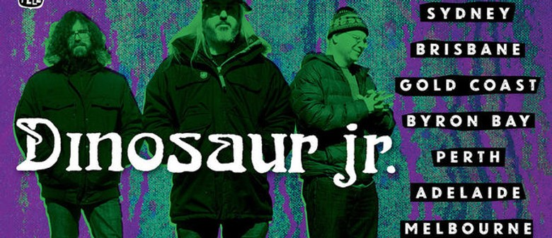 Dinosaur Jr. Return To Australia In January Next Year