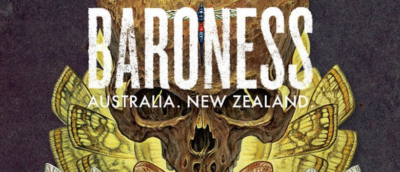 Heavy Metal Band Baroness Hit Australian Road This December