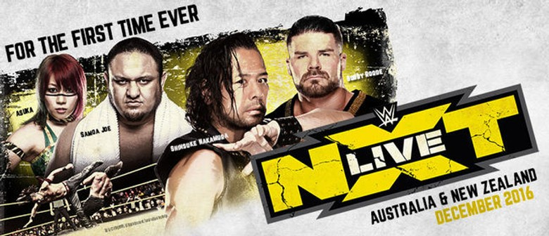 WWE NXT Live Brings Live Action To Australia This December