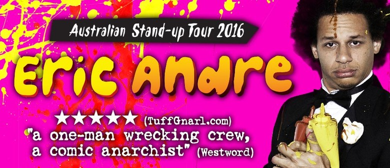Eric Andre Plays Debut Australian Shows This December